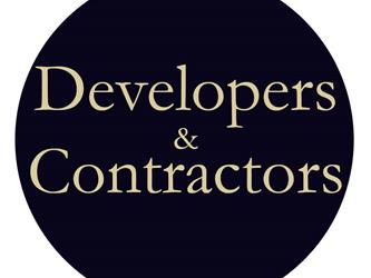 """Developers and Contractors"" Graphic"