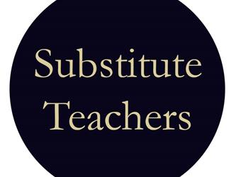 """Substitute Teachers"" Graphic"